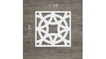 Brownsville Dcorative Fretwork PVC Wall Panels Small