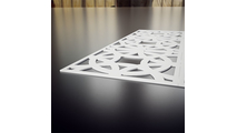 Brownsville Decorative Fretwork PVC Wall Panels Thickness