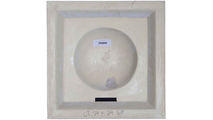 """24"""" Shell Urethane Ceiling Tile Rear View"""
