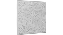 """24"""" Swirl Urethane Ceiling Tile Angled View"""