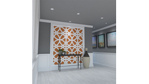 Daventry Decorative Fretwork PVC Wall Panel Room2 View