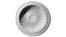 """47"""" Devon Recessed Mount Ceiling Dome Flat View"""