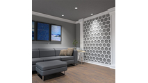 Westmore Decorative Fretwork PVC Wall Panel Room2 View