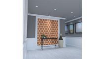 Westmore Decorative Fretwork PVC Wall Panel Room3 View