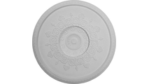 """47"""" Andrea Ceiling Dome Flat View"""
