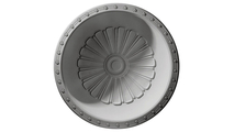 """53"""" Bedford Recessed Mount Ceiling Dome Flat View"""