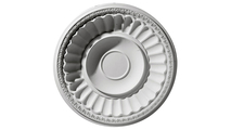 """51"""" Dublin Recessed Mount Ceiling Dome Flat View"""