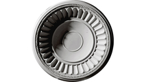 """26"""" Dublin Recessed Mount Ceiling Dome Flat View"""