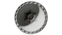 """39"""" Hillock Recessed Mount Ceiling Dome Flat View"""