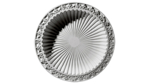 """47"""" Milton Recessed Mount Ceiling Dome Flat View"""