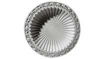 """39"""" Milton Recessed Mount Ceiling Dome Flat View"""