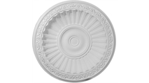 """32"""" Nexus Ceiling Dome with Light Ring Flat View"""