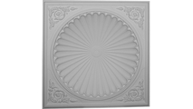 """38"""" Odessa Recessed Mount Ceiling Dome Flat View"""