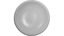 """44"""" Smooth Recessed Ceiling Dome Flat View"""