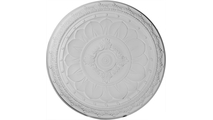 """47"""" Stockport Recessed Mount Ceiling Dome Flat View"""