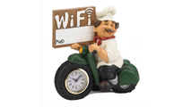 Chef Wifi Sign Clock