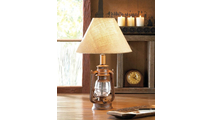 Vintage Camping Lantern Table Lamp
