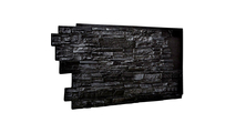 Stacked Stone Faux Siding Panel Graphite