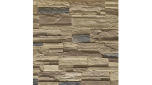 """9""""W Cascade Stacked Faux Stone Siding Panel Colfax"""