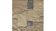 """9""""W Castle Rock Stacked Faux Stone Siding Panel Colfax"""