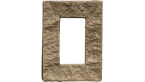 Universal Electrical Cover for StoneWall Faux Stone Siding Panel Colfax