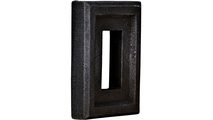 Universal Electrical Outlet Stonewall Faux Stone & Rock Siding Panel Graphite