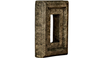 Universal Electrical Outlet Stonewall Faux Stone & Rock Siding Panel Grey