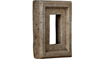 Universal Electrical Outlet Stonewall Faux Stone & Rock Siding Panel Platinum
