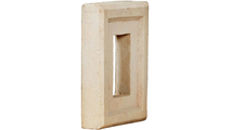 Universal Electrical Outlet Stonewall Faux Stone & Rock Siding Panel Sonora Desert