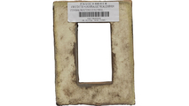 Universal Electrical Cover for StoneWall Faux Stone Siding Panel Back