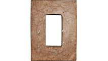Universal Electrical Outlet Stonewall Faux Stone & Rock Siding Panel Back