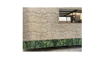 """9""""W Castle Rock Stacked Faux Stone Siding Panel Sample1"""