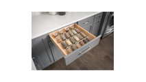 """23-1/2"""" Spice Tray Organizer for Drawers"""