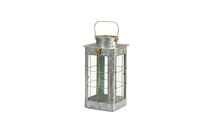 Small Farmhouse Galvanized Lantern