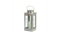 Small Farmhouse Galvanized Lantern