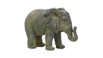 Weathered Elephant Statue