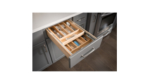 """18"""" Double Cutlery Drawer"""