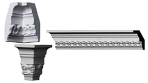 """Raynor Crown Moulding System -94-1/2"""" Long"""