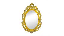Vintage Hannah Yellow Mirror