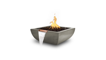 """30"""" Alicante Concrete Fire and Water Bowl"""