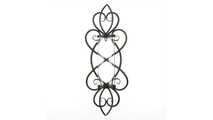 Heart Shaped Candle Wall Sconce