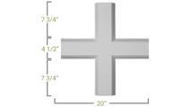 Inner Cross Measurement