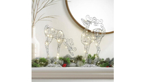Fairy Light Up Reindeer Decor