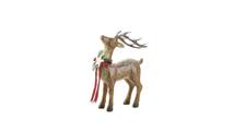 Rustic Holiday Doe Reindeer Figurine
