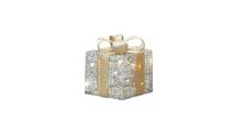 Small Light Up Gift Box Decor