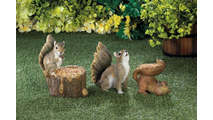 Bushy Tail Squirrel Figurine