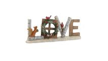 Love Christmas Decorative Sign