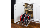 """Cookware Organizer for 15"""" Base Cabinet"""