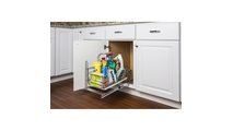 Cleaning Supply Caddy Pullout with Handle