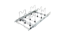 """15"""" Cookware Organizer Pull Out Sliding Cabinet Shelf"""